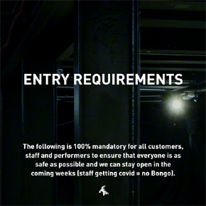 COVID POLICY: ENTRY REQUIREMENTS