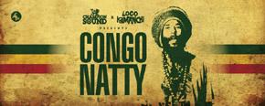 Uk dance legend Congo Natty brings the jungle ruckus to Loco Kamanchi, Wed 25th Jan