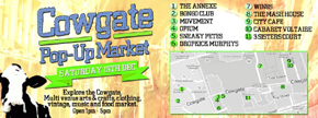Cowgate's First Pop-Up Market