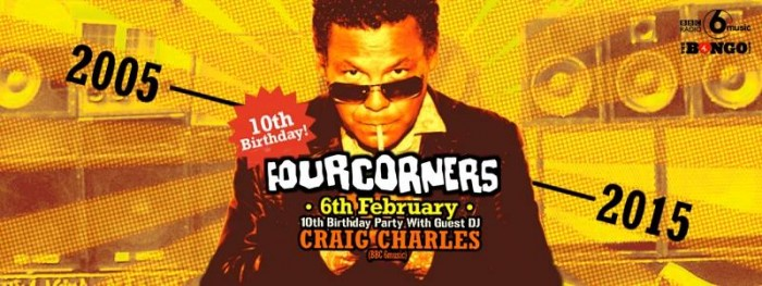 Craig Charles - Four Corners Flyer '15