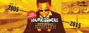 Craig Charles to headline Four Corners Tenth Birthday, Fri 6th Feb '15