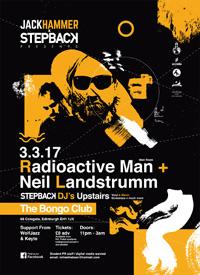 JACKHAMMER: RADIOACTIVE MAN (LIVE) x NEIL LANDSTRUMM (LIVE)