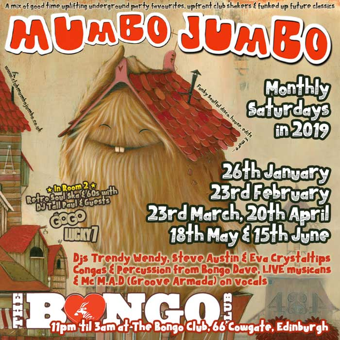 Mumbo Jumbo with The Gogo (Monthly Saturdays) - The Bongo Club