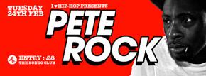 Pete Rock makes Scottish debut at I Love Hip Hop, Tues 24th Feb