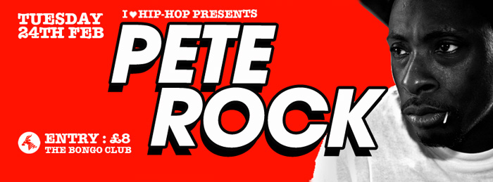 Pete Rock I Love Hip Hop banner