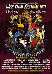 WEE DUB FESTIVAL: MAD PROFESSOR, MESSENGER & AFRIKAN SIMBA