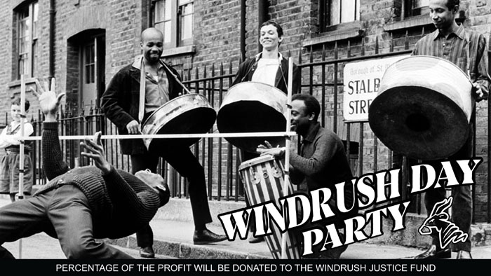Messenger Sound System ft. MC Ista host our Windrush Day Party, Sat 22nd June