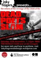 INKY FINGERS: Dead Poets Slam